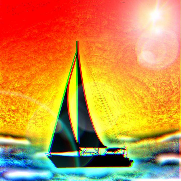 Come sail away - Patricia Maitland's cover art