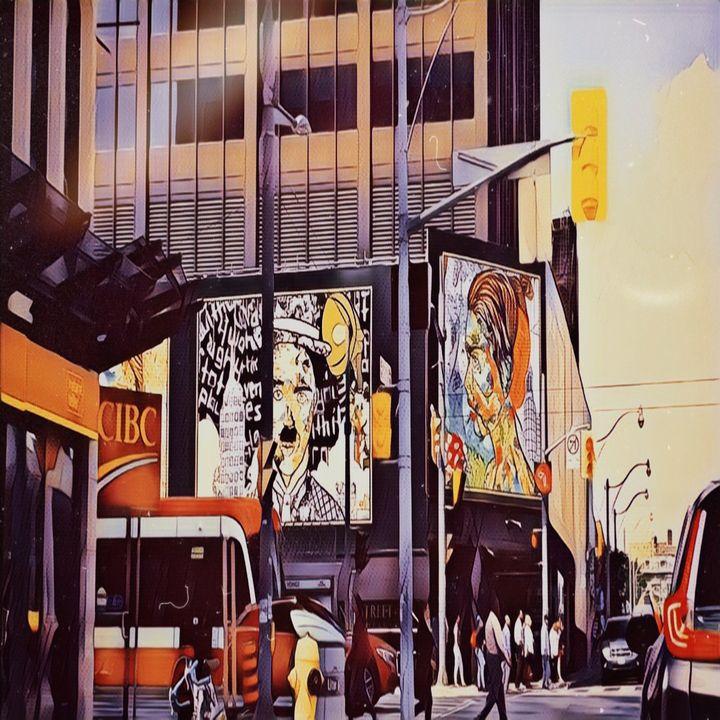 Big city bliss - Patricia Maitland's cover art