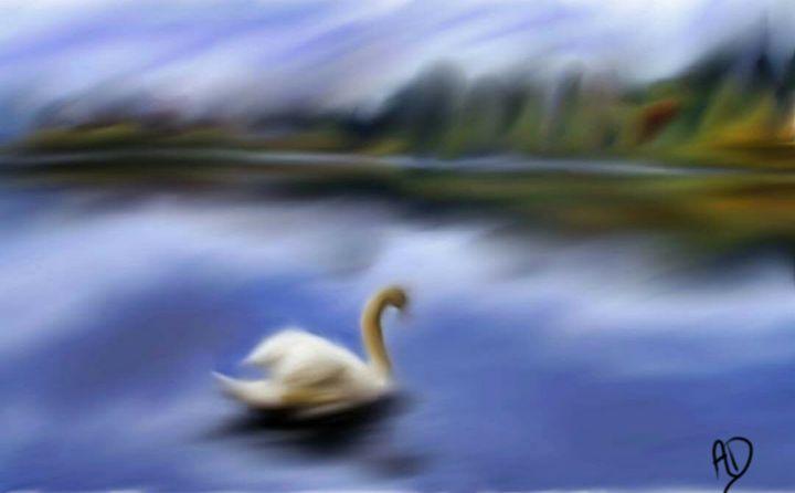 Single Swan - Crazy Crafty Chicks