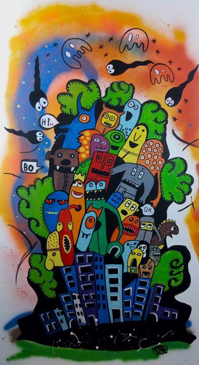 Mambo Street - MoBeArt Gallery