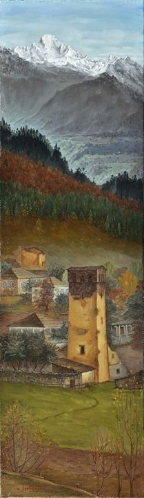 """Autumn in Svaneti"" - irmakvanchiani"