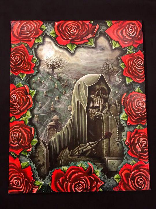 The thirteenth rose part 2 - Lo start original art