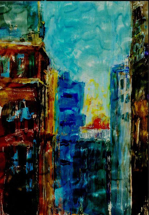 Old City Scraper - Vidka Art