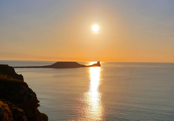 Worms Head Rhossili - Jamie Pedro