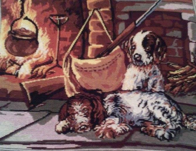 Beautiful Dogs - Georgeta's Needlepoint Art