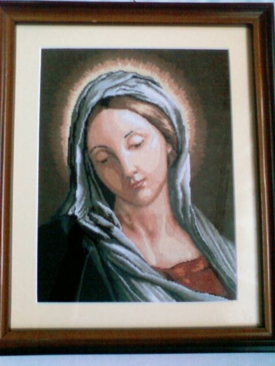 Mary - Georgeta's Needlepoint Art