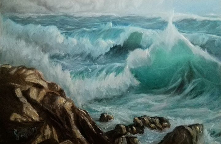 Before the Storm - Mr. & Mrs. Sabio Art Gallery