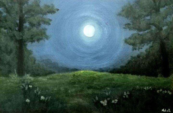 Moonlight - Mr. & Mrs. Sabio Art Gallery