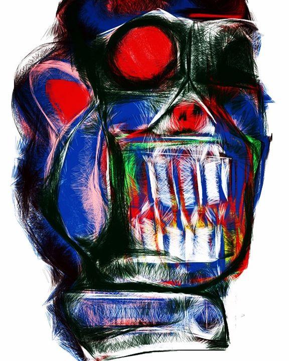 Robot clown - Jonathan Jaeger