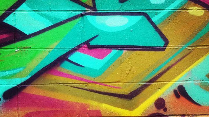 Mosh Pit - Aroura Abstract Art