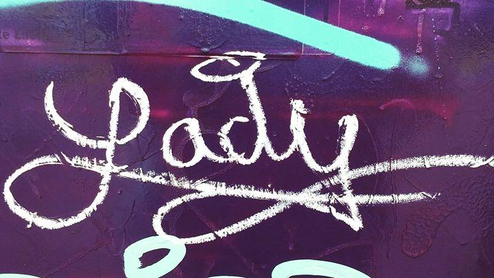 Purple Lady - Aroura Abstract Art