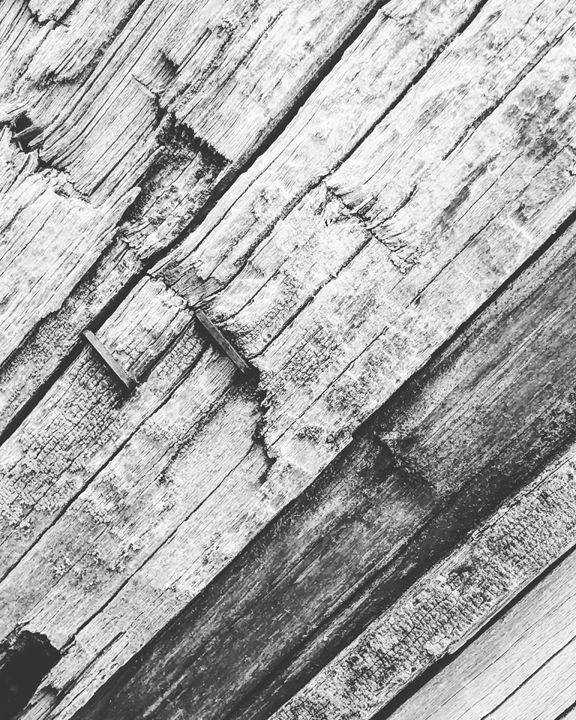 Wood Grain 2 - Aroura Abstract Art