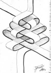 Ribbon geometry.