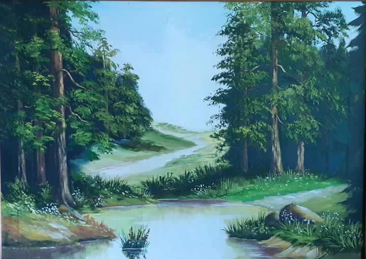 Лесное озеро - Tatyana
