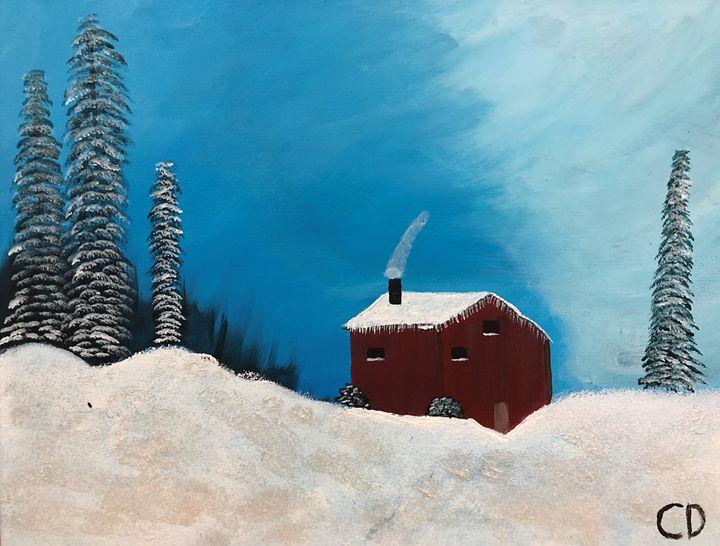 Winters Cabin - Carol Damico