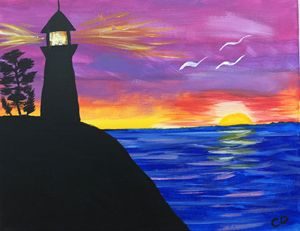 Beach Lighthouse