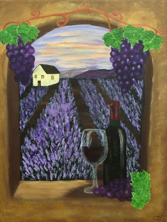 Tuscany Wine - Carol Damico