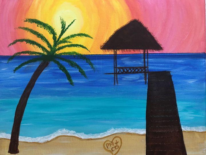 Relaxing Beach - Carol Damico