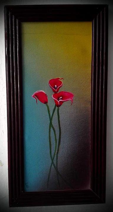 flower Painting - Artworld