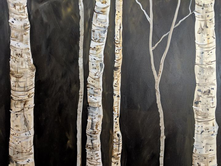 Birch Trees - S.H-Duffy