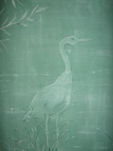 White Heron Floridian Design