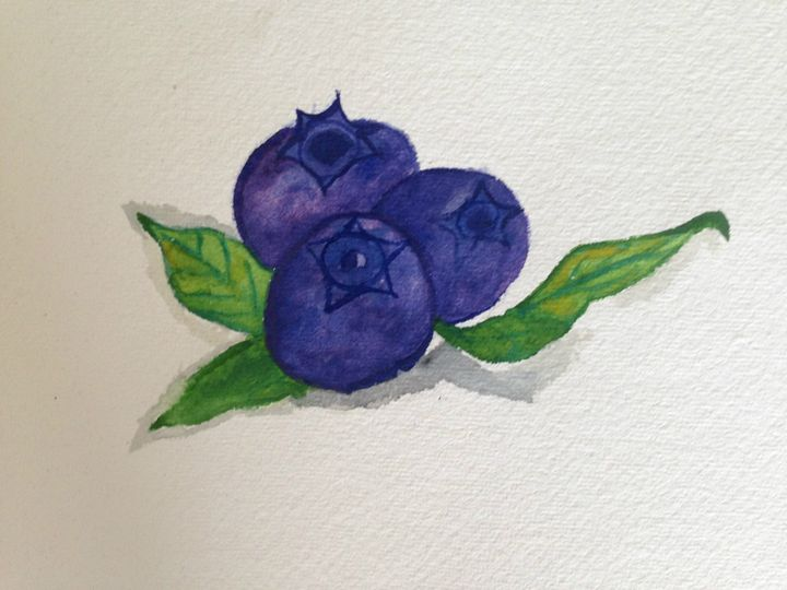 Blue Berries - Sai Arts