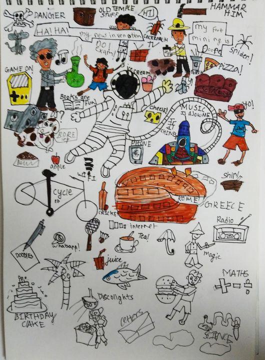 Doodled - Shivtej bid