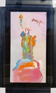 """Peter Max """"Statue of Liberty"""""""