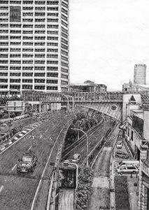 Sydney Highways from Pyrmont Bridge