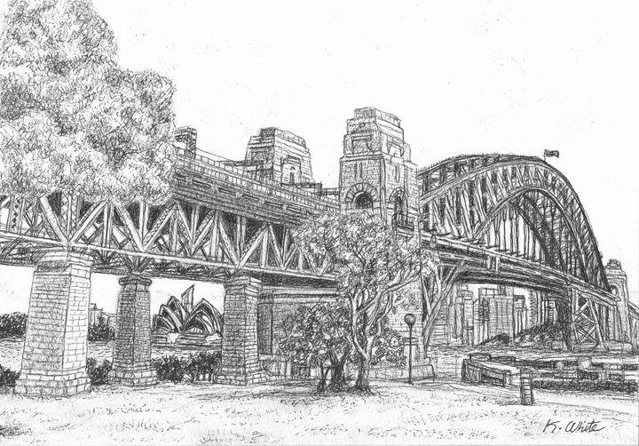 Bradfield Park- Sydney - Karen White (Easel Artworx)