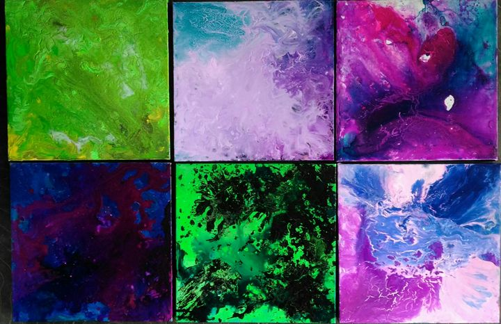 Just Flow Remember Dodot Paintings Prints Abstract