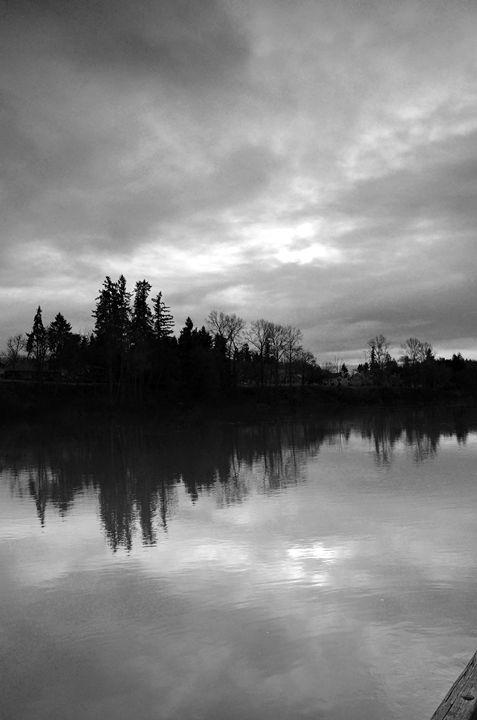 lake sun set - raminray