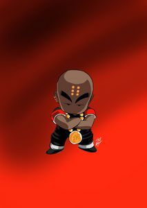 Black Krillin - Sdxart