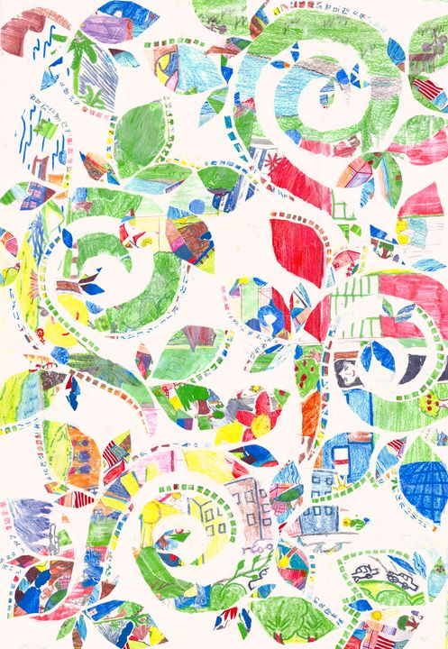 Untangled - DMI Art Gallery - Children's Collage Collections