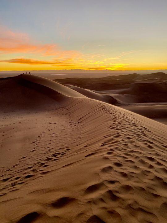 Sunset on the Dunes - Aaron Schantz Photography