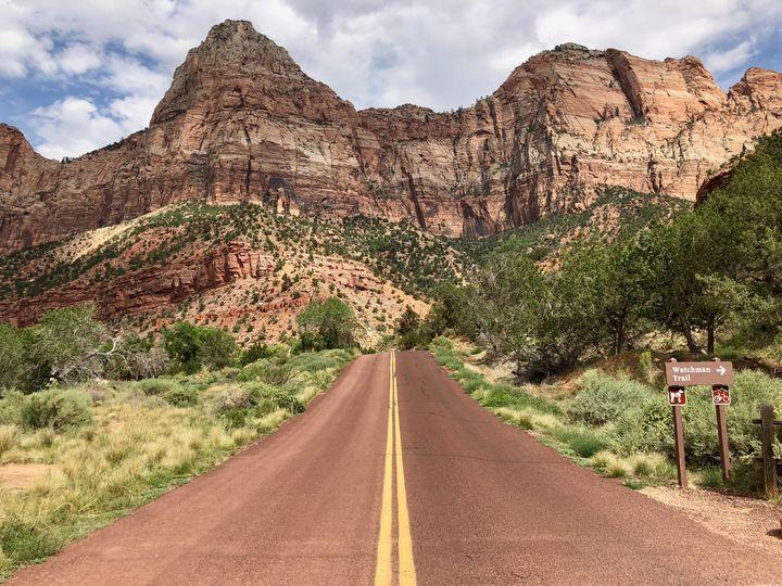 Watchman Trail - Aaron Schantz Photography