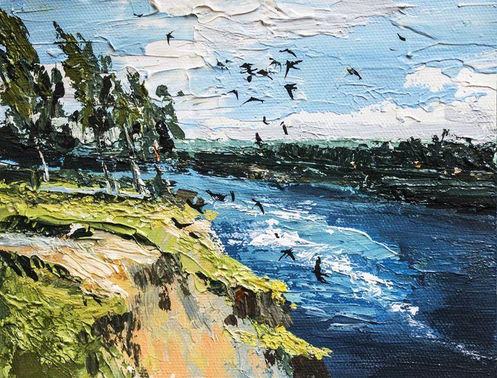 Spring,Original acrylic painting - Artgallery