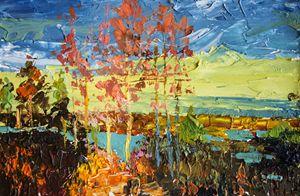 Autumn,Original acrylic painting - Artgallery