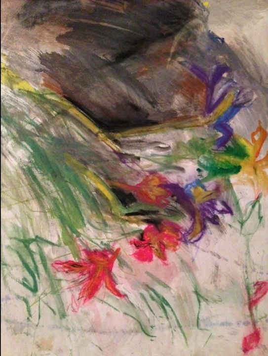 Flowers - IRIS GILL ARTWORK
