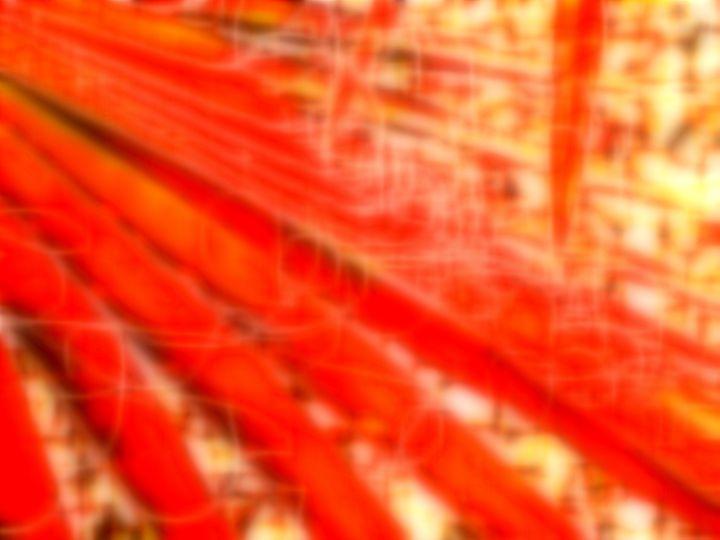 Fronds in Orange - Lins Henderson dba JoyPaul