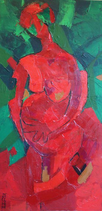 Pregnancy Deconstructed - Barbara Zecchi Art
