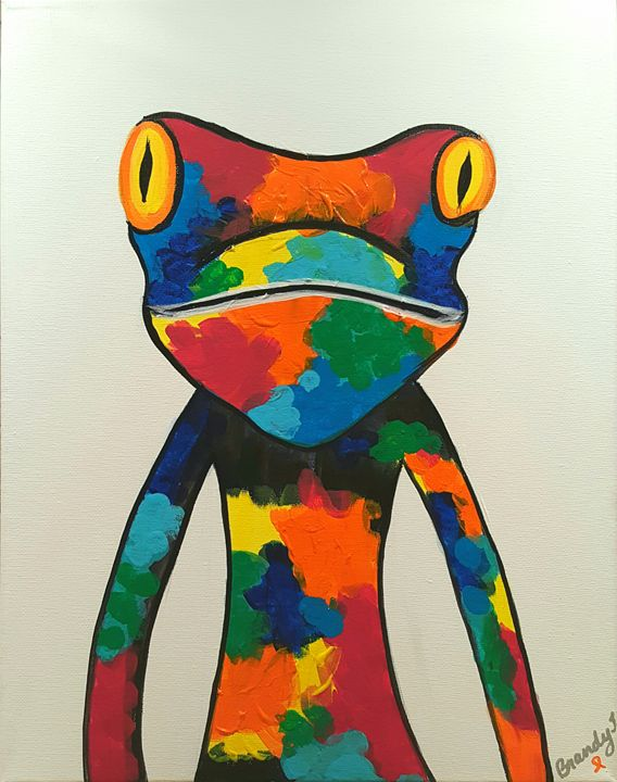 Froggie - Art By Brandy