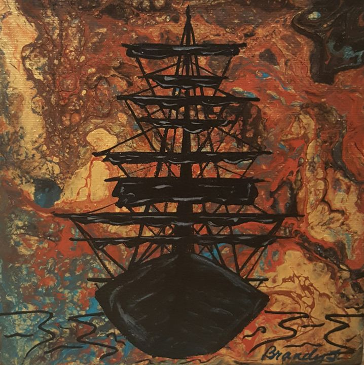 Pirate Sunset - Art By Brandy