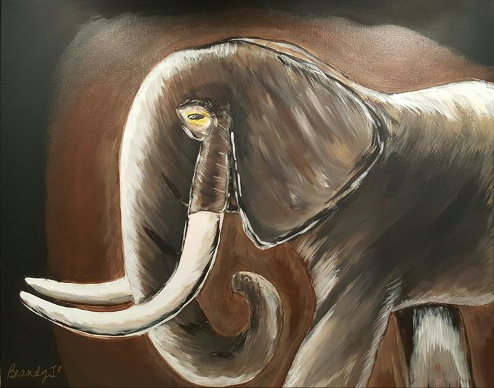 Elephant - Art By Brandy