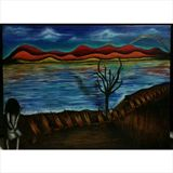 102x76cm arcrylic painting