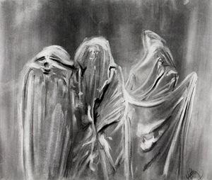 Three Spirits - Art Portfolio