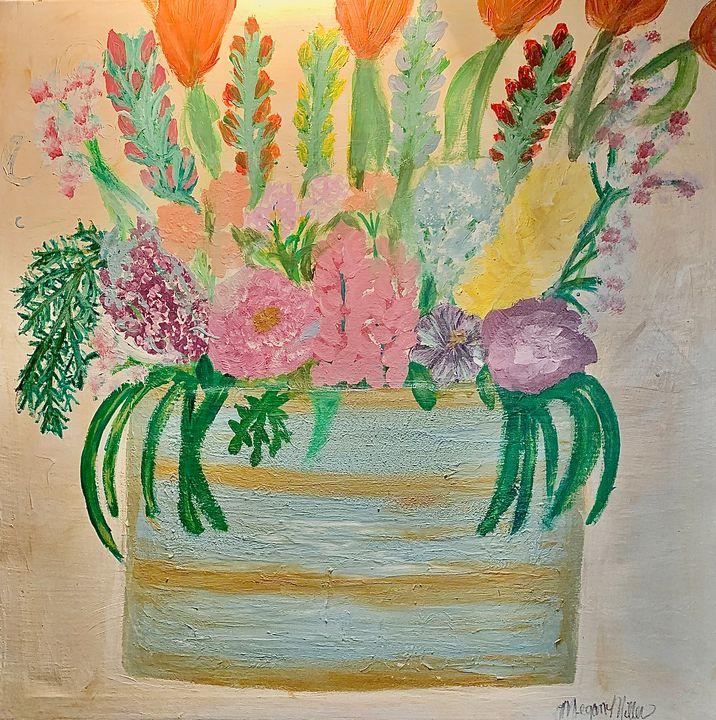 Flower Scrubs - Cheap Therapy