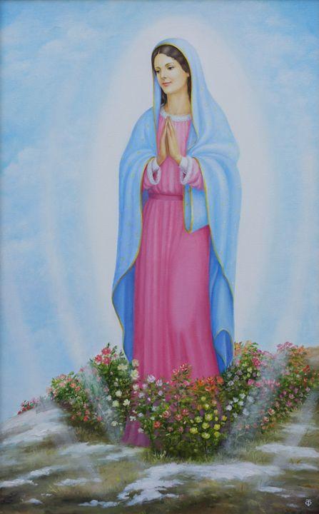 The Virgin of Guadaloupe - Tatiana F. Light