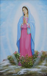 The Virgin of Guadaloupe