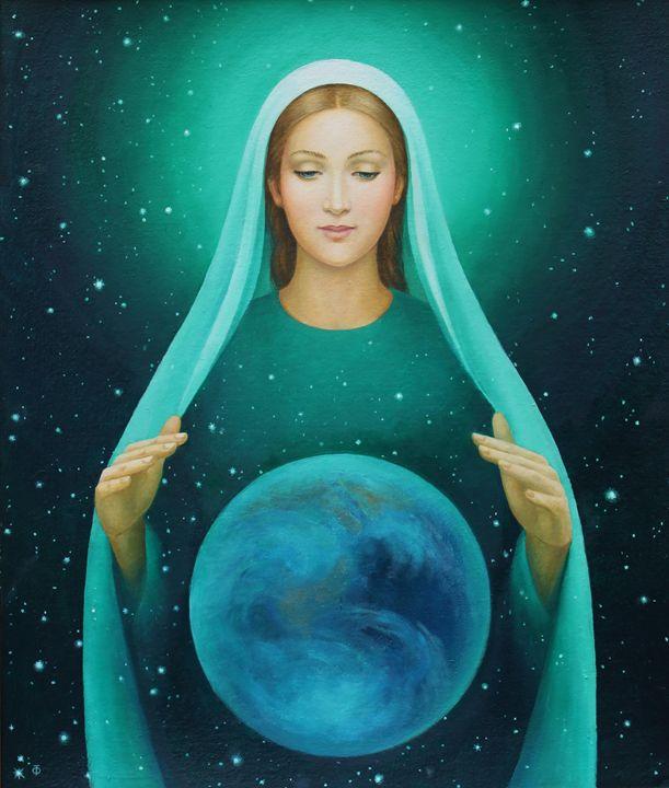 Virgin Mary, Guardian of the Earth - Tatiana F. Light